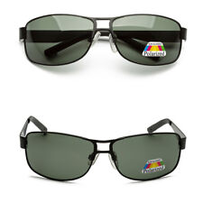 100% UV400 Mens Sunglasses Lens Glasses Polarized Retro Metal Driving Outdoor