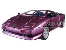 Lamborghini Diablo Purple 1/24 Diecast Model Car By Motormax 73201