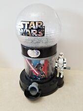 2015 Star Wars Gum Ball Machine jellybean candy Storm Trooper used