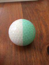 New listing One Eclipse Nitro Green Aqua Golf Ball White Used (1)