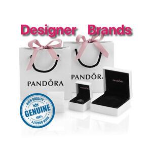 Genuine PANDORA Charm Box, Gift Bag, bag, Velvet Pouch, ring box, Bracelets box