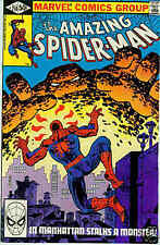 Amazing Spiderman # 218 (Frank Miller-cover) (USA,1981)