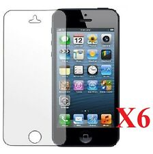 6 pcs iPhone 5 5C 5S Anti Glare, Anti Scratch, Anti Fingerprint Screen Protector