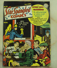 STAR SPANGLED COMICS 18 MISSING CENTER PAGES MARVEL