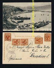 Italy ANCONA Harbour Porto Hafen * AK um 1900