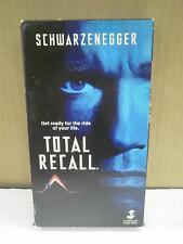 VHS MOVIE- TOTAL RECALL -ARNOLD SHWARZENEGGER- USED- L95
