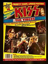 KISS THE VIDEOS MAGAZINE!! July 1990 Rock Scene Special Issue! ( Program )