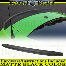 2010-2014 Ford Mustang MATTE BLACK OEM Factory Style Spoiler Lip Wing Fin