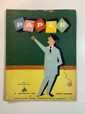 Vintage Catalogue - The Story of Paper 1957