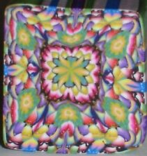 SALE - NEW - ALL CANES SHIP FOR $4 -  SPECTRUM KALEIDOSCOPE CANE by SueC #S536