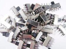 20 x Schiebeschalter Schalter 2xUM 250Vac 30V 0,5A Seiko Trading Company #3S73#