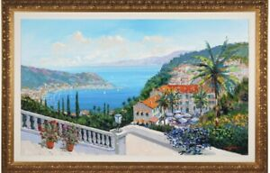 """Kerry Hallam Original Oil Painting LARGE 36""""x60"""" w/ Gallery Label"""