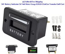 AU 36V Battery Indicator 36 Volt EZGO ClubCar Yamaha Golf Cart Meter Gauge New
