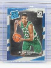 2017-18 Donruss Optic Jayson Tatum Rated Rookie RC Celtics JM