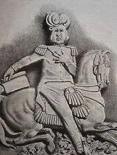 Litho HONORE DAUMIER CHARIVARI LD157 MODELE de PAIN d'EPICES LOUIS PHILIPPE 1833