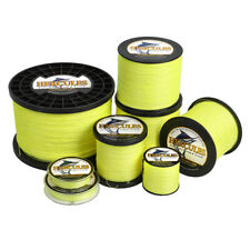 Hercules 4/8/9/12 Strand 6-300LB Braid Fishing Line Fluorescent Yellow 100-2000M