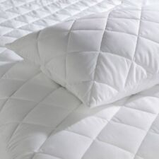 EXTRA DEEP WATERPROOF QUILTED MATTRESS PROTECTOR FITTED BED TOPPER DOUBLE SIZE