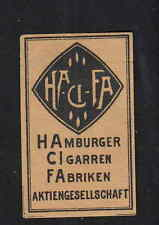 Ancienne  étiquette allumettes  BN4792 HACIFA