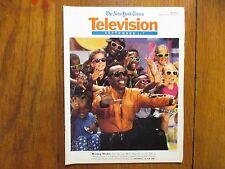 September 1, 1991 The  New  York  Times  TV  Magazine (M.  C.  HAMMER/HAMMERMAN)