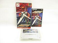 AXELAY Item Ref/2214 Super Famicom Nintendo Konami Shooting Japan Game sf