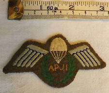 Military Assistant Parachute Jump Instructor AJPI Wings Army Cloth Badge (3094