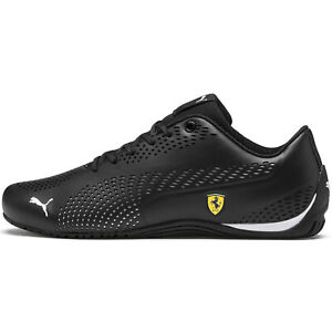 PUMA Ferrari Drift Cat 5 Ultra Men's Shoes Casual Sneakers Black 306422-03