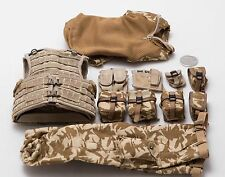 1/6 DAM British Army Minimi Gunner Expo Osprey Assault Vest DPM Uniform Lot *TOY