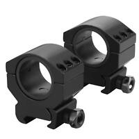 Tactical Low Profile 30mm 25.4mm Rifle Scope Rings Weaver Picatinny Rail Mount