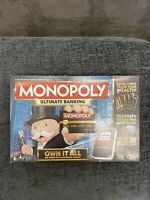 Hasbro Monopoly Ultimate Banking Board Game 100% complete