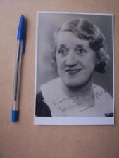Jennie Gregson autograph (A3)