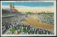 Lot of Two Vintage Postcards From Louisville, Kentucky Churchill Downs, Cherokee