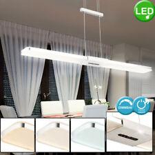 LED ALU Decken Hänge Lampe Wohn Zimmer Touch Dimmer Beleuchtung Höhe verstellbar