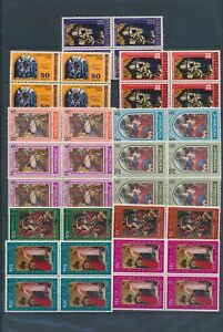 XC89969 Montserrat christmas religious art fine lot MNH