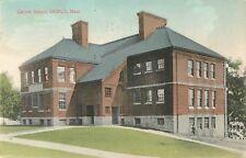 1909 Cranch School, Quincy, Massachusetts Postcard