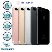 Apple iPhone 7 Plus 7+ No Touch ID 32GB 64GB 128GB Unlocked GSM 4G