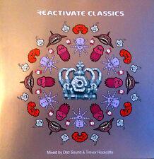 REACTIVATE CLASSICS - 1 X CD MIXED - TRANCE TECHNO & HARDHOUSE CDJ DJ