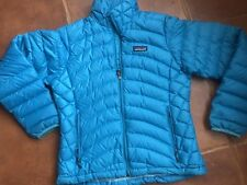 Patagonia Down Sweater Jacket XS Pretty Blue Aqua Color New w/o tags