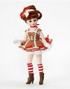 New - Madame Alexander 10'' Gingerbread Coquette #71275 Doll Retired - NRFB