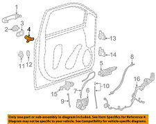 GM OEM Front Door-Lock Cylinder 13590041