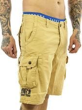 Yakuza Herren-Cargo-Shorts aus Baumwolle