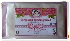 "Porcellana fredda "" Flores "" by Clarena Art - 500g -"