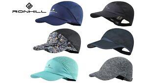 RONHILL MENS WOMENS LADIES AIR-LITE DRY LIGHT STRETCH RUNNING SPORTS HATS CAPS