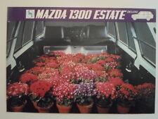 MAZDA 1300 ESTATE orig 1971 UK Mkt Sales Brochure