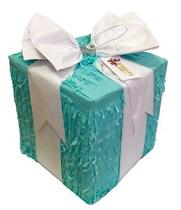Gift Box Pinata Pull Strings Style
