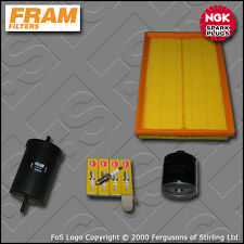 SERVICE KIT SEAT LEON (1M) 1.6 16V FRAM OIL AIR FUEL FILTERS PLUGS (2001-2005)