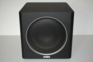Polk Audio PSW110 Active Subwoofer - Powered Sub Woofer Bass Speaker