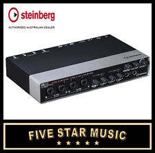 STEINBERG UR44 USB AUDIO MIDI INTERFACE with CUBASE AI SOFTWARE - NEW UR-44