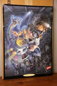 Levi's Denim Jeans Vintage Poster Advertising Display Sign 1990 Robot steampunk