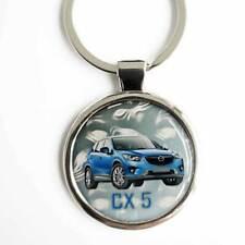 Mazda CX5 Schlüsselanhänger Mazda CX5 3D Oberflächenbeschichtung & Textgravur