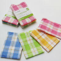 Set of 12 Highly Absorbent 100%Cotton Professional Kitchen Dish Towel Tea Towels